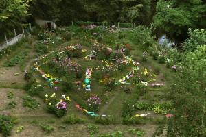 jardin entier vu du pont