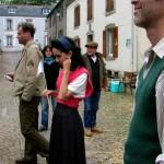 """Olivier Henry, le producteur des """"Films au long cours""""sur le lieu du tournage au Juch(c) Sylvie Robin"""